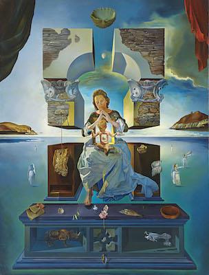 サルバドール・ダリ<br /> 《ポルト・リガトの聖母》1950年<br /> 福岡市美術館蔵<br /> © Salvador Dalí, Fundació Gala-Salvador Dalí, JASPAR Tokyo, 2017   G0868