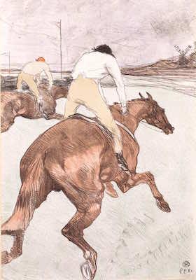 アンリ・ド・トゥールーズ=ロートレック<br /> 《騎手(Ⅰ)》1899年<br /> ※前期のみ展示