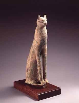 エジプト《聖猫》<br /> 紀元前950-660年