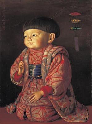 椿貞雄《菊子座像》<br /> 1922年 平塚市美術館