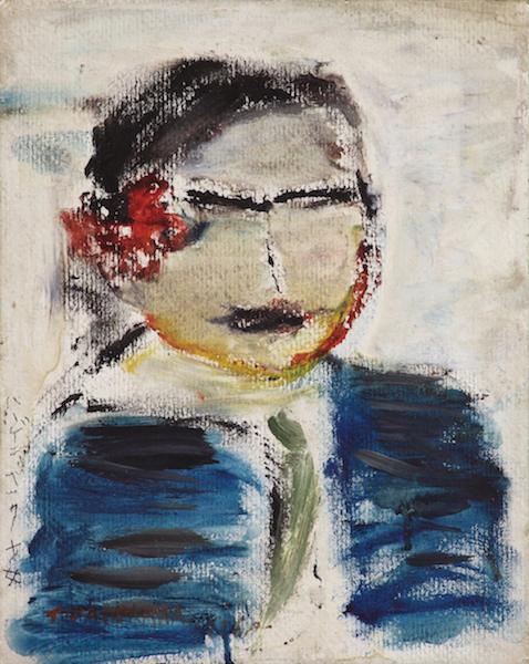 《ハーゲンベックの少女》1937年<br /> 個人蔵