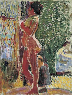 アンリ・マティス《画室の裸婦》1899年