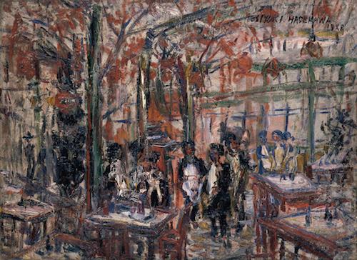 《カフェ・パウリスタ》1928年<br /> 東京国立近代美術館蔵