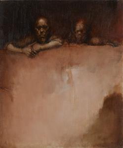 平野遼《二つの顔》1970年代
