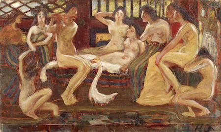 青木繁《天平時代》1904年<br /> 石橋財団ブリヂストン美術館蔵