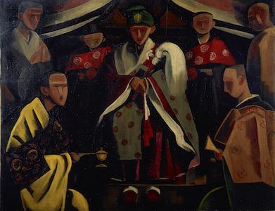 古賀春江《曲彔につく》1923年<br /> 石橋財団ブリヂストン美術館蔵