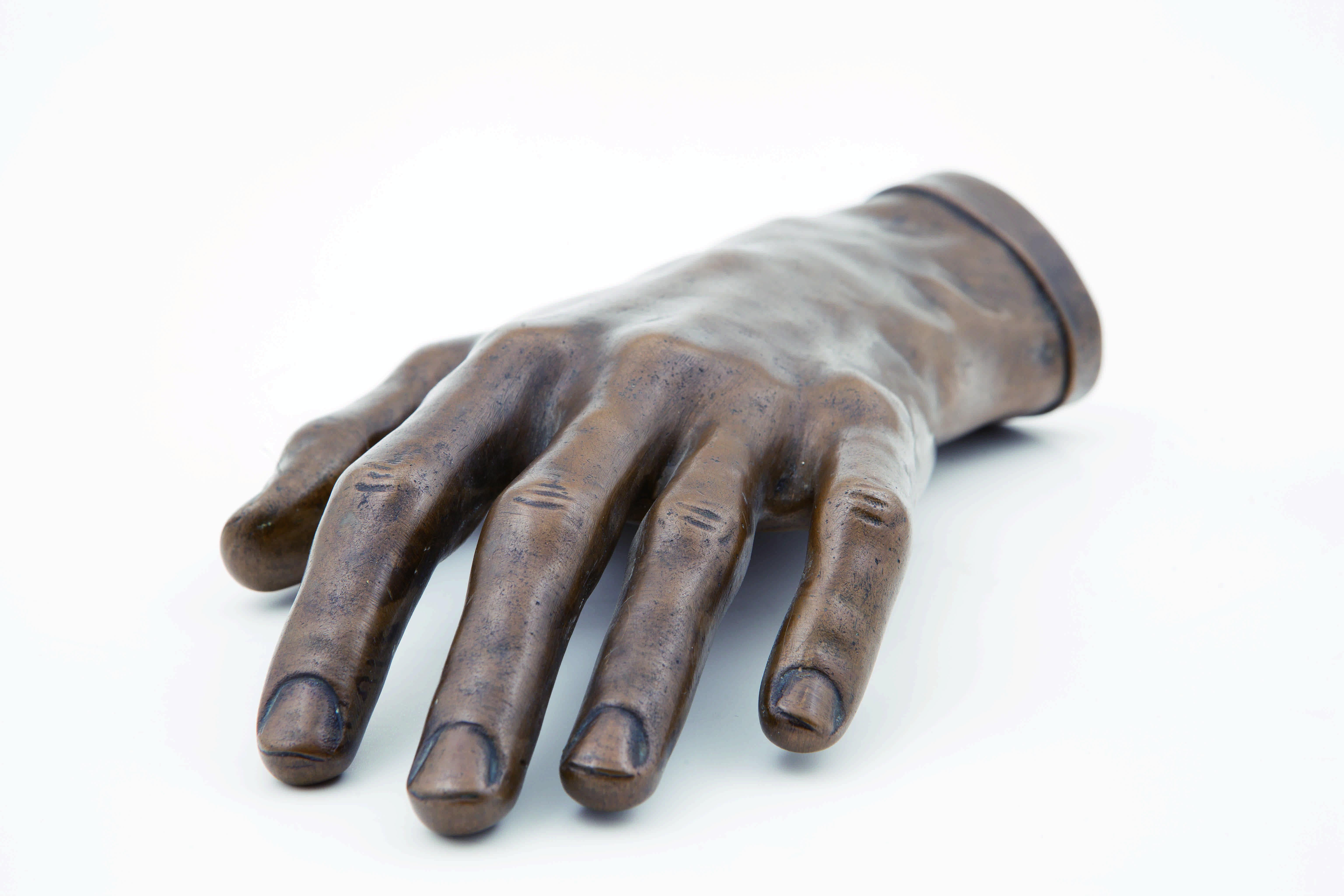 《ショパンの左手像》1968年鋳造 NIFC