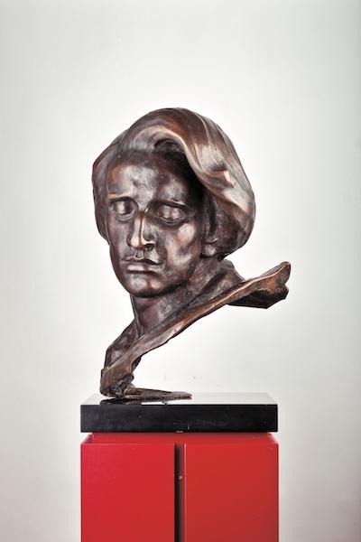 《ワジェンキ公園のフリデリク・ショパン記念像胸部》1968年 NIFC