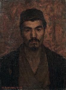 《自画像》1904年 東京藝術大学