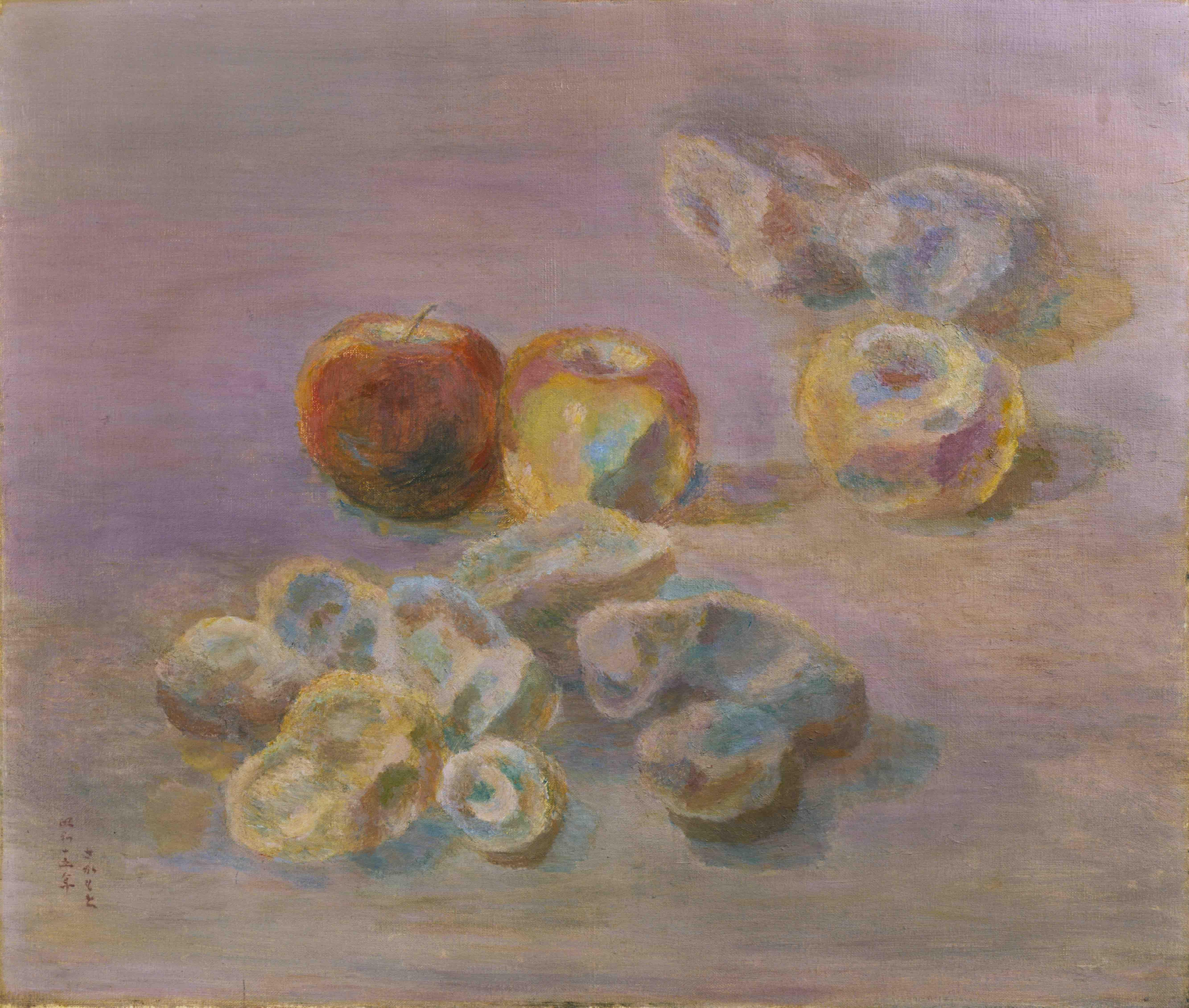 《林檎と馬鈴薯》1940年<br /> 京都国立近代美術館蔵