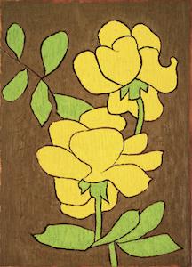 《薔薇》1971年<br /> 公益財団法人 ひろしま美術館