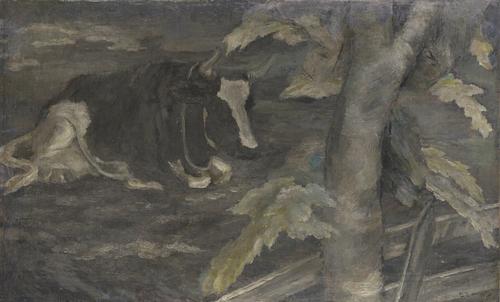 《牛》1920年<br /> 石橋財団ブリヂストン美術館蔵