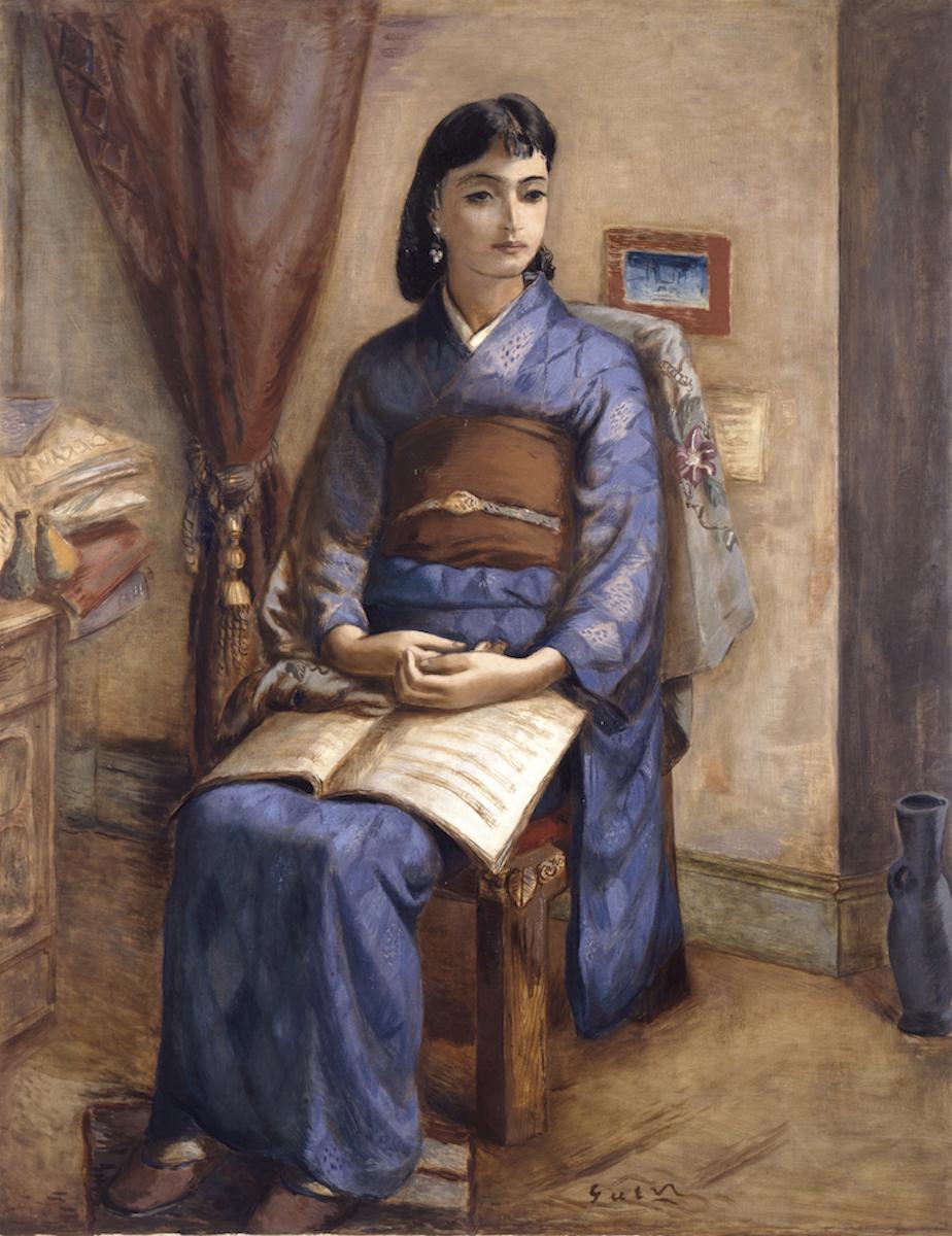 猪熊弦一郎《座像》1929年 <br /> 香川県立ミュージアム<br /> ©The NIMOCA Foundation