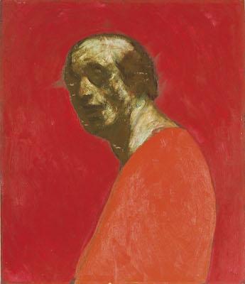 《自画像(絶筆)》1985年<br /> 笠間日動美術館
