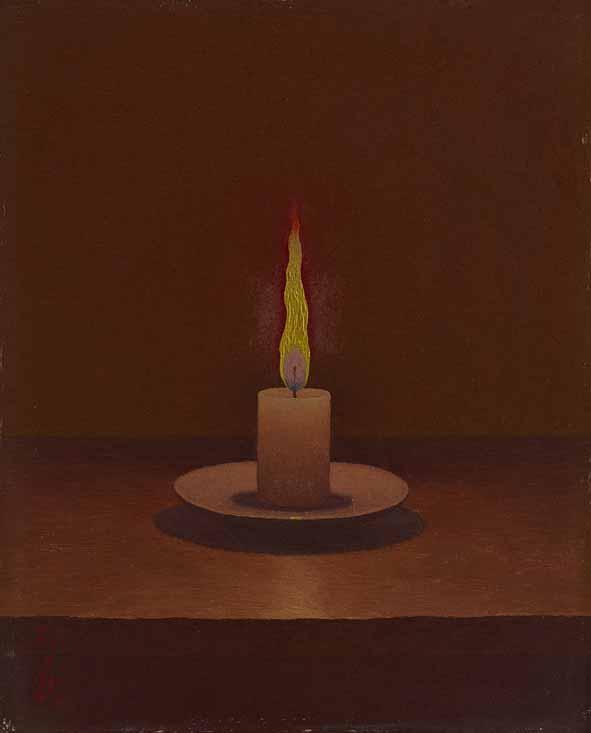 《蠟燭》1948年以降<br /> 久留米市美術館