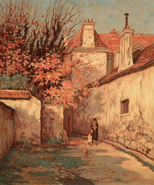 《パリ郊外》1930-33年<br /> 個人蔵