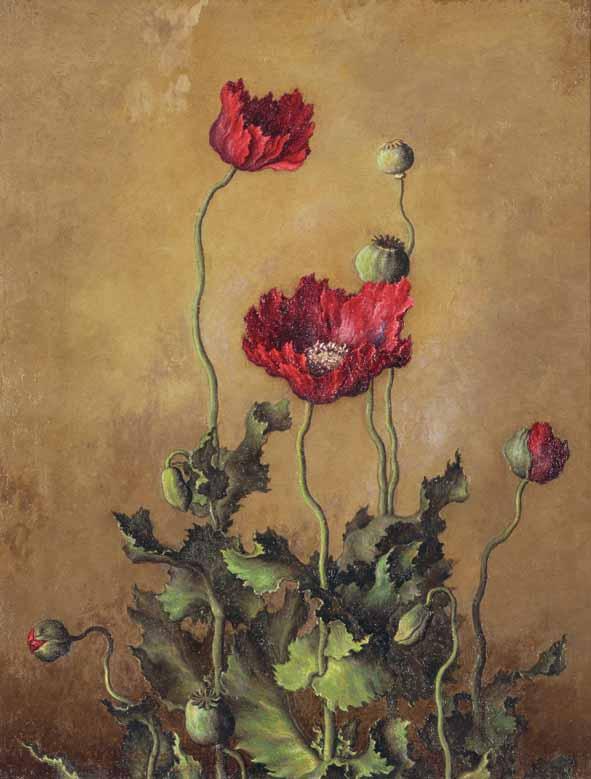 《けし》1925年<br /> 三鷹市美術ギャラリー