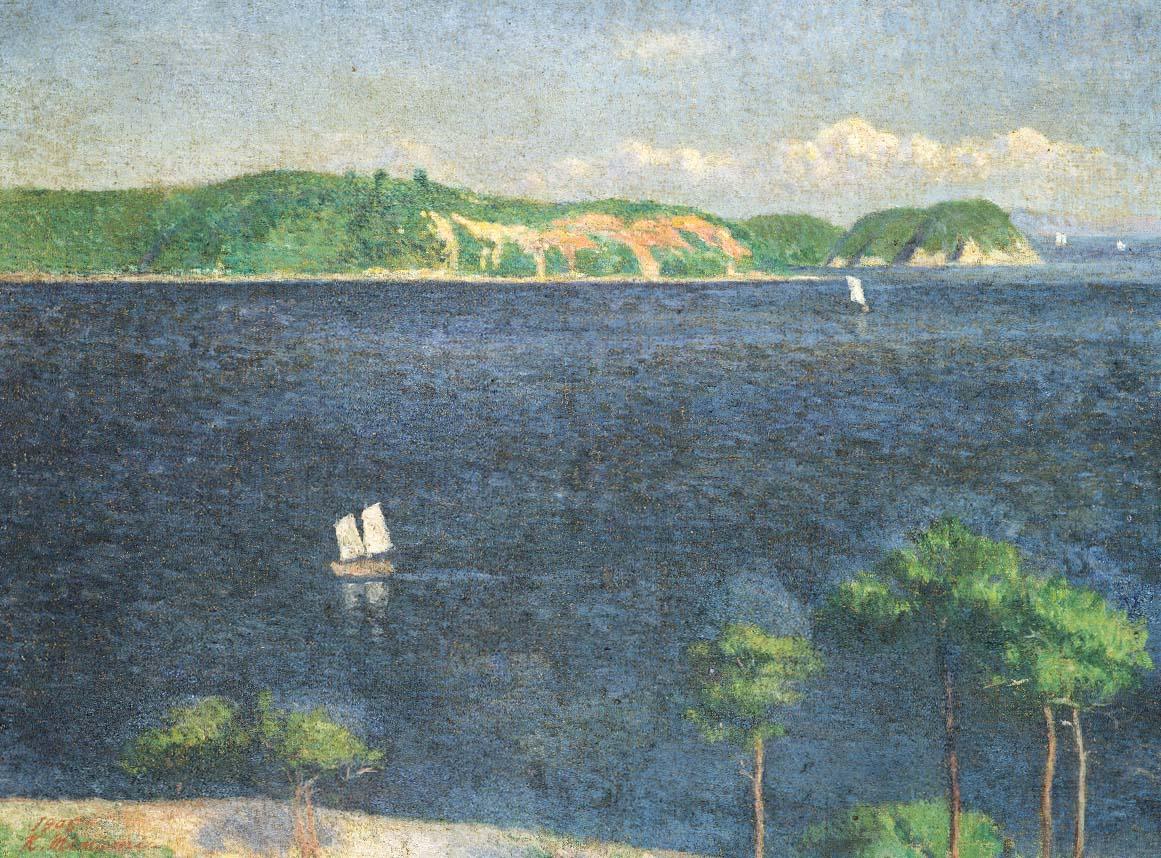 《瀬戸内海》1905年 東京藝術大学蔵