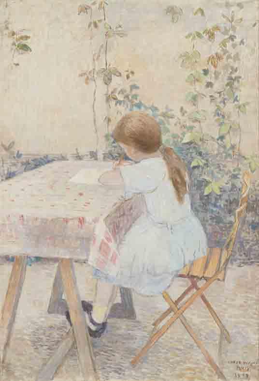 《少女》1909年 東京国立近代美術館蔵